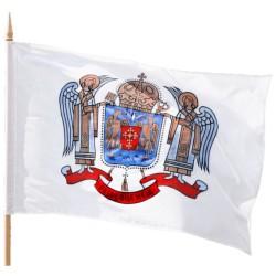 Drapelul Patriarhiei Romane - exterior