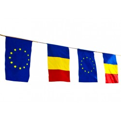 Ghirlanda stradala - tricolor+U.E.